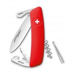 Нож перочинный SWIZA D03, красный